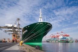 Una nave in porto