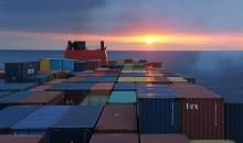 Traffico container, il trend è negativo
