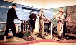 La sala del Museo della Subacquea