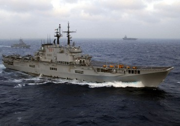 La portaerei Garibaldi