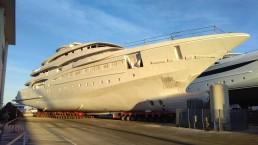 Lo yacht movimentato da Cts