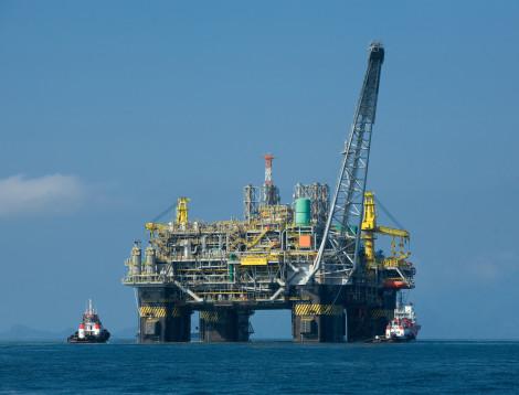 Una piattaforma offshore
