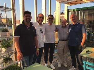 Filippo Bongiovanni, Francesco Mattiello, Samir Lorenzo Bassoni, Il Vice Presidente di ASAMAR Emilia Romagna Franco Poggiali ed Ettore Zerbi